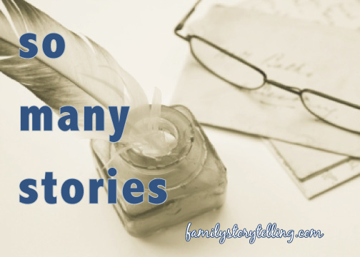 family stories storytelling