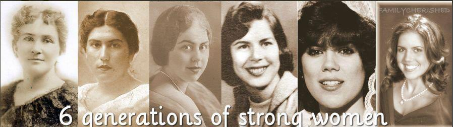 Strong Women genealogy family history family storytelling