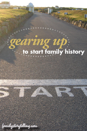 Family Storytelling, Family History, Gear Up