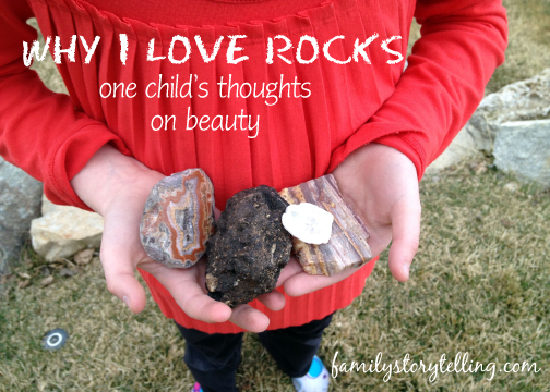 Family Storytelling, Rocks, Life Lessons, Judging