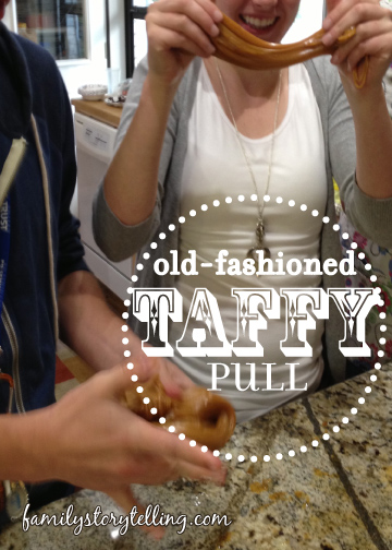 Family Storytelling, Honey Taffy Recipe, Heritage, Pioneer Recipe