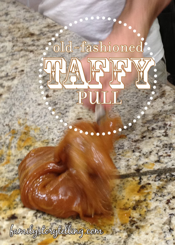 Family Storytelling, Honey Taffy Recipe, Taffy Shape